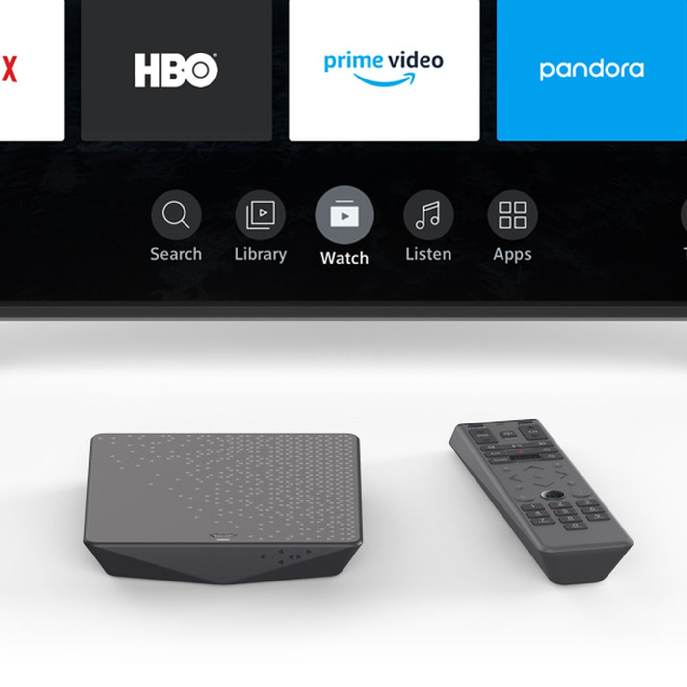 Comcast S Free Streaming Box Actually Requires An Additional 13 Month Fee The Verge