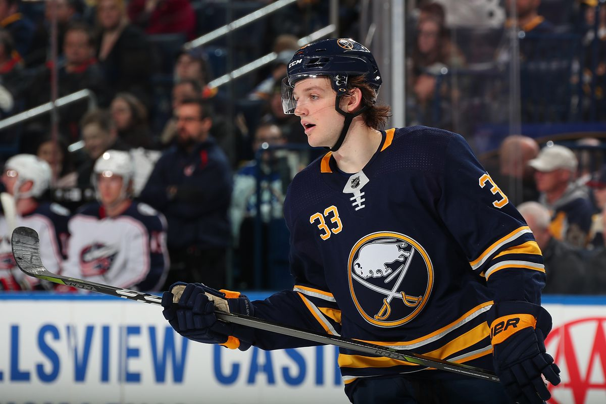 Will Borgen and the Buffalo Sabres' defensive logjam