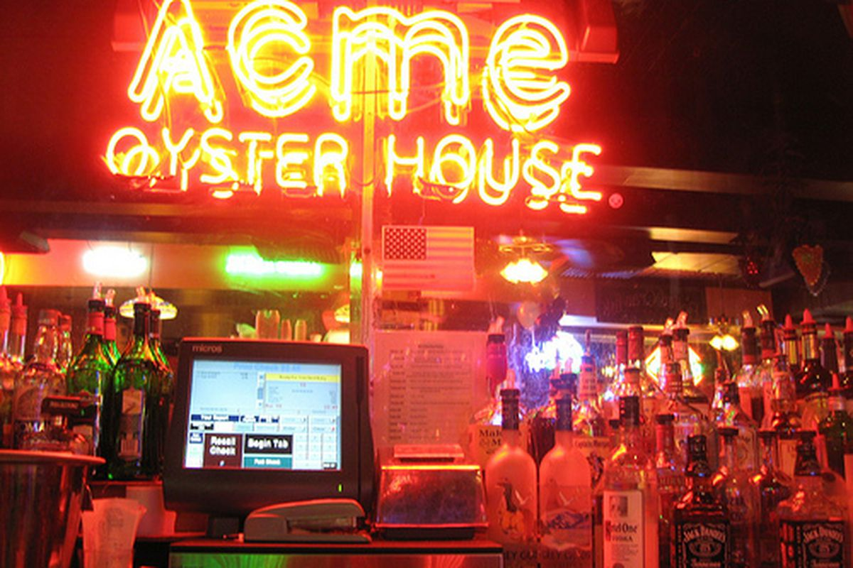 Acme Oyster House.
