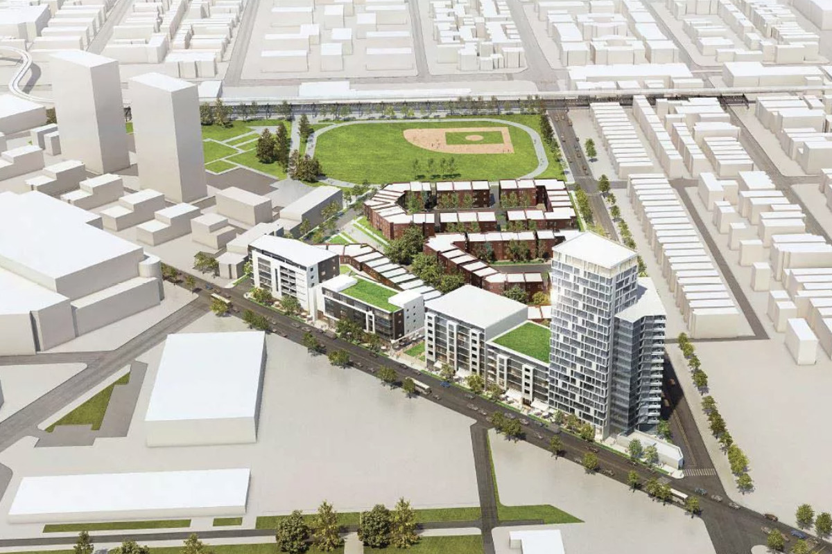 19 Story High Rise Seeks City Roval To At Former Cabrini Green Site