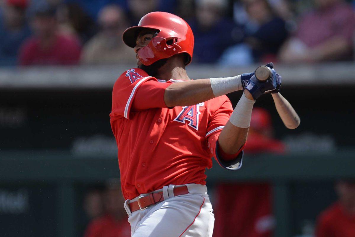 0beeb7011c82ba MLB: Spring Training-Los Angeles Angels at Chicago Cubs