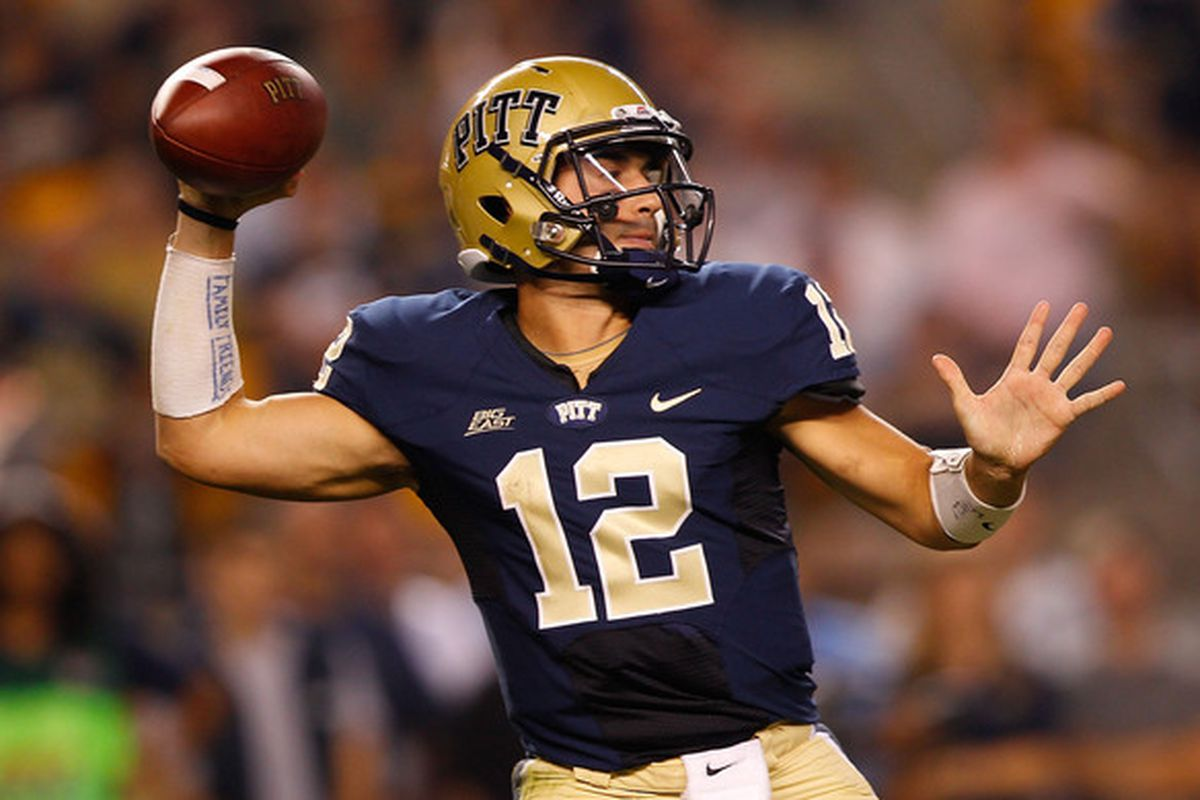 Sunseri was one of the few bright spots for Pitt on Saturday (Photo by Jared Wickerham/Getty Images)
