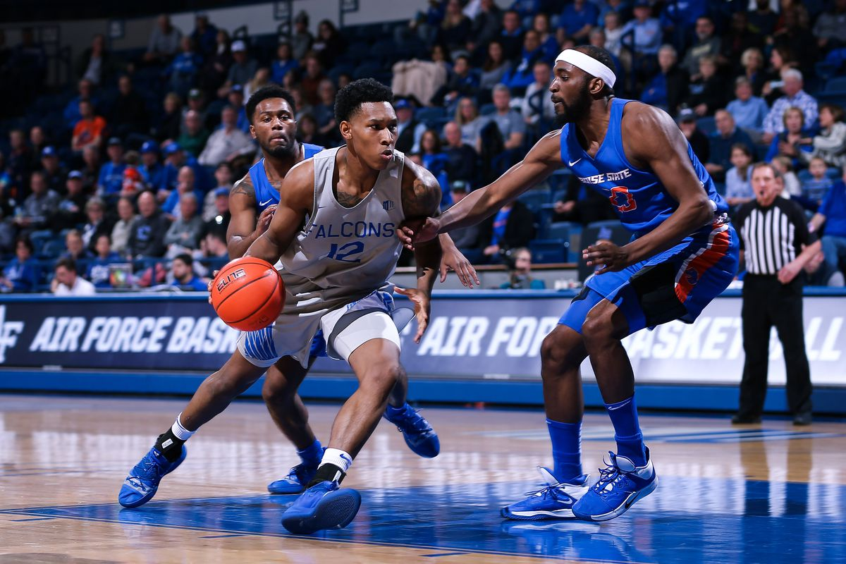 NCAA Basketball: Boise State at Air Force