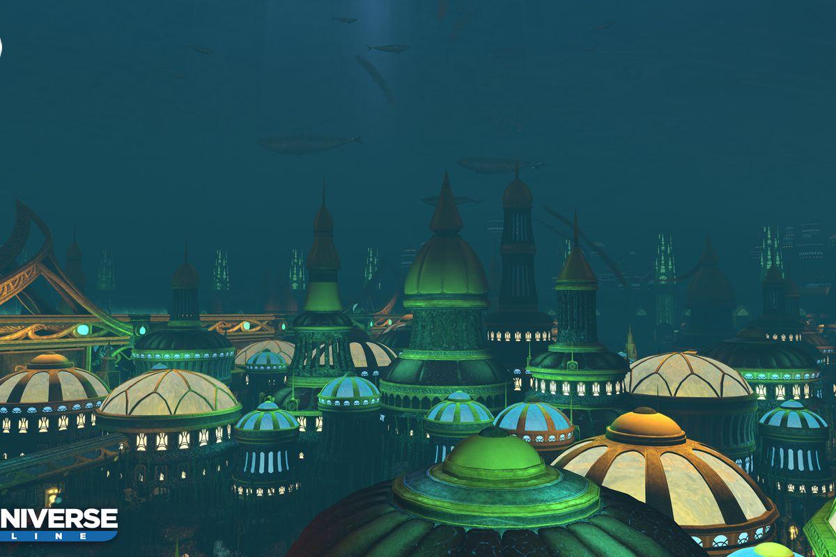 DC Universe Online delivers a big, beautiful Atlantis this November ...