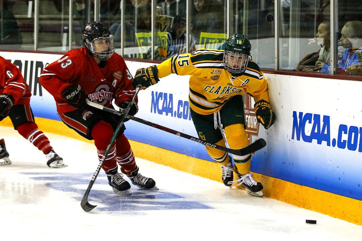 NCAA HOCKEY: MAR 16 Women's - Division I Championship - Clarkson v Ohio State