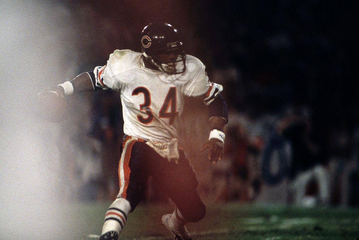 Walter Payton, Chicago Bears On Monday Night Football