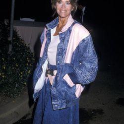Jane Fonda, 1987