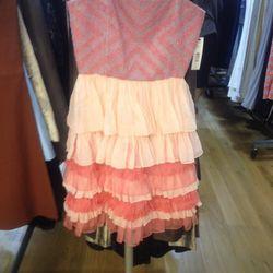 Tiered dress (sample), $99
