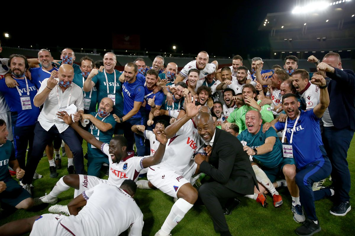 Former Chelsea assistant Eddie Newton guides Trabzonspor to first ...