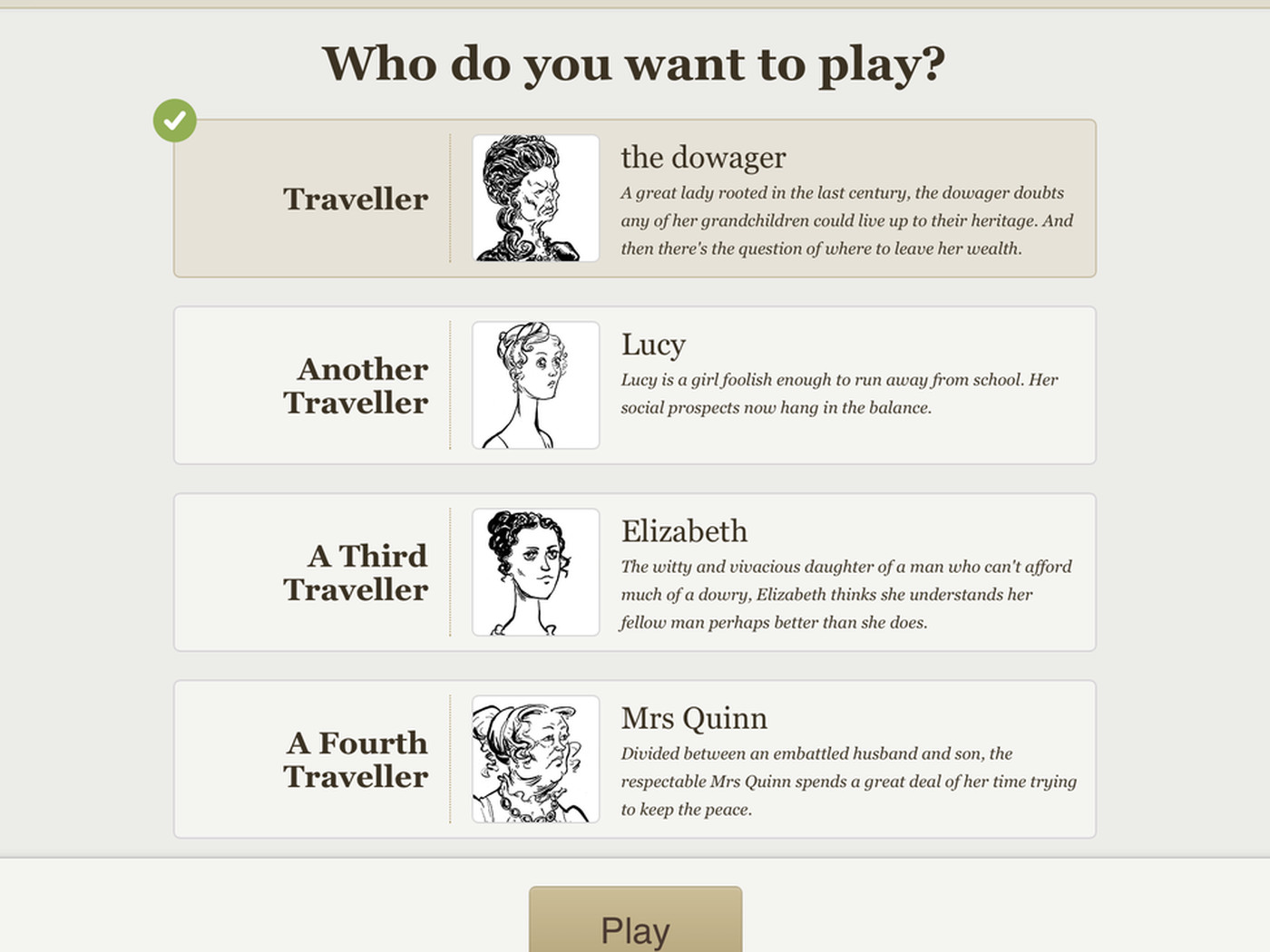 Linden Lab launches Versu, an interactive fiction app for iPad - Polygon
