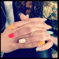 """Hoop Nails by <a href=""""http://instagram.com/jeanniev"""">Jeannie Vincent</a>"""