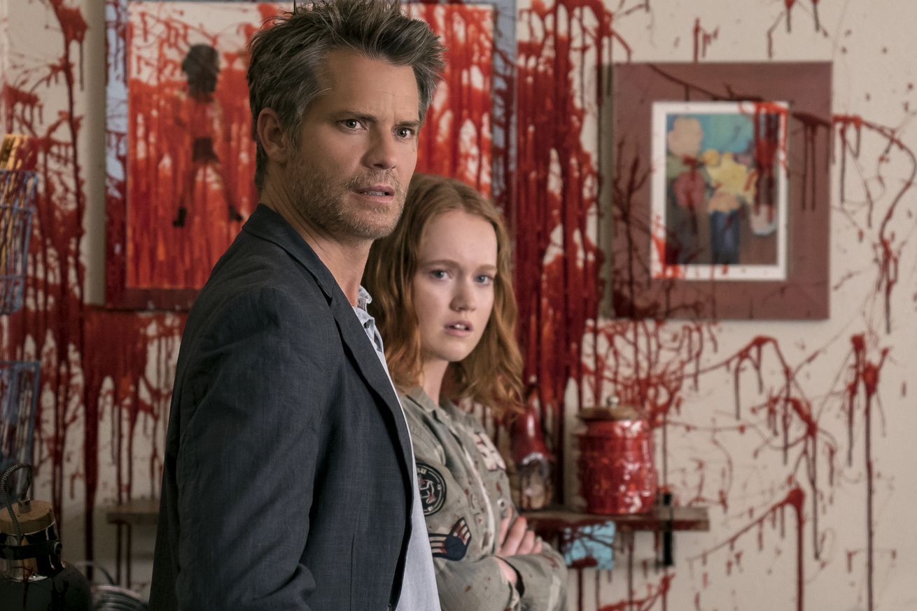 in netflix s santa clarita diet zombies are the political activists america needs