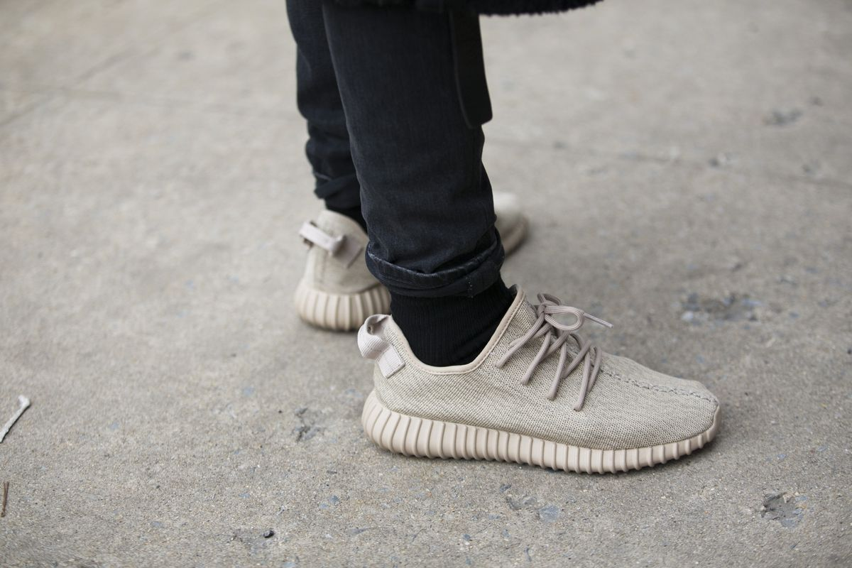 premium selection 00468 6aada The Adidas Yeezy sneakers have consistently sold out since the first pair  debuted in 2015. Melodie Jeng Getty Images ...