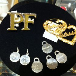Silver charms designed by Sarah Jessica Parker, $650