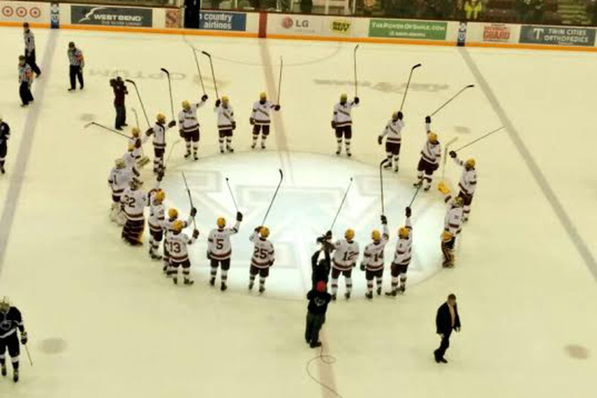 Your 2013-14 Big Ten Hockey Champion Minnesota Golden Gophers