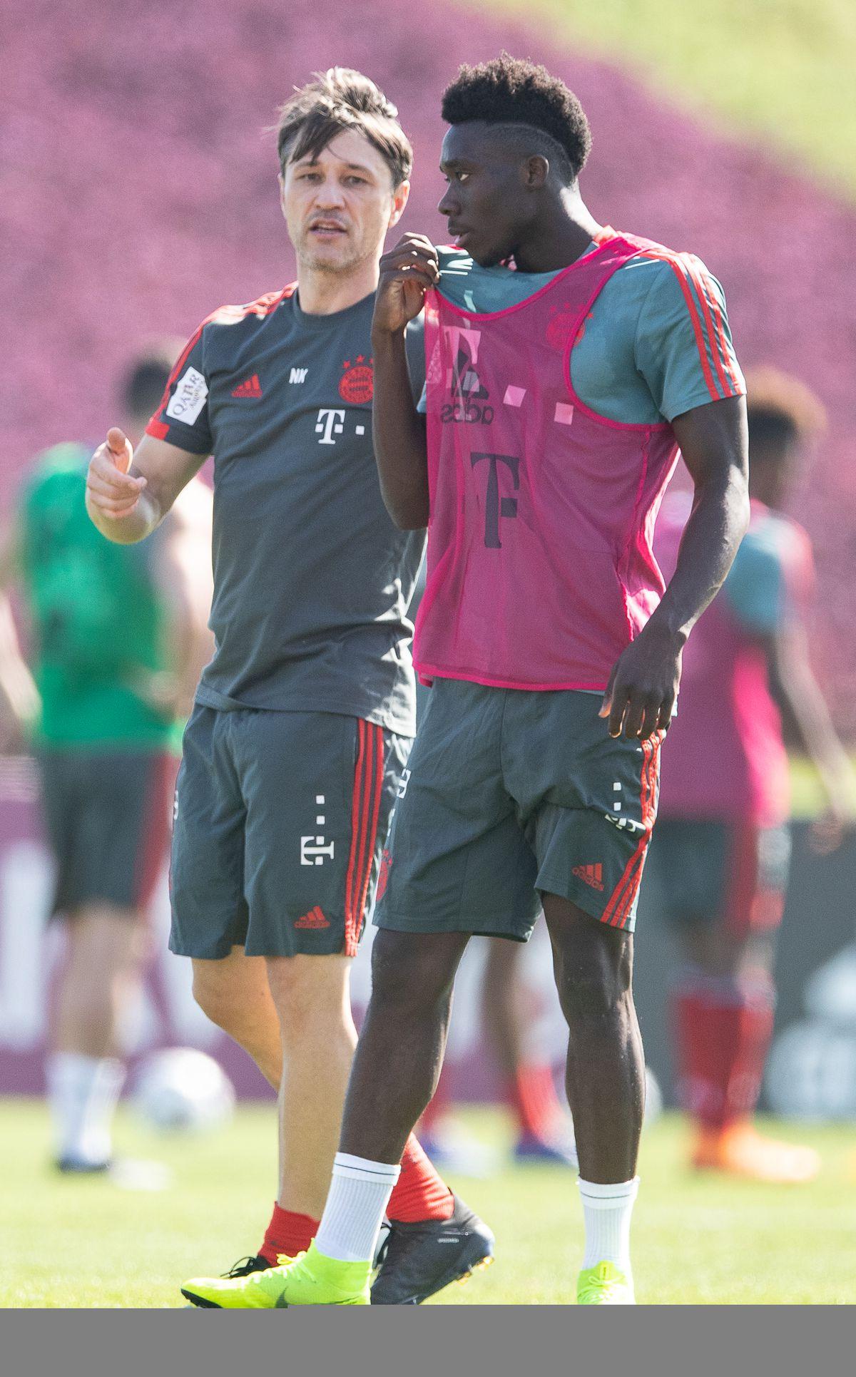 Alphonso Davies Already Impressing His Teammates At Bayern