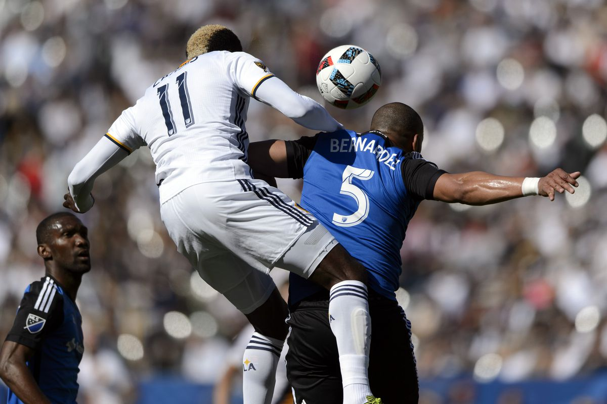 Gyasi Zardes put in a good shift for LA against their rivals.