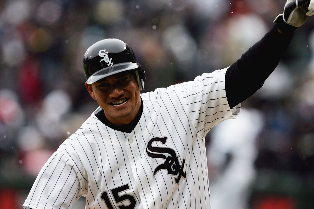 Sadly, still the best White Sox second baseman to wear the No. 15.