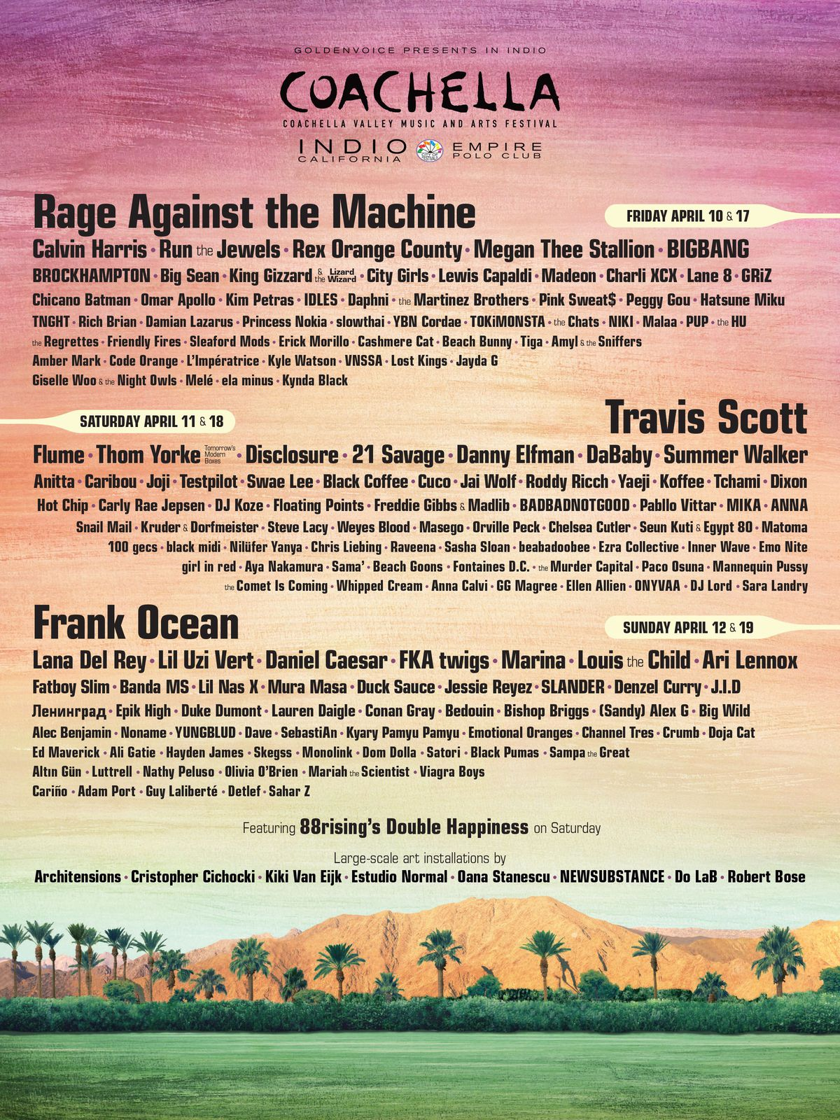 Coachella 2020 The Good The Bad And The Weird Of This Year S Lineup Vox