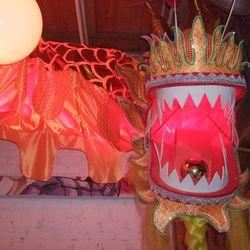 . . . That belongs to this festive dragon.