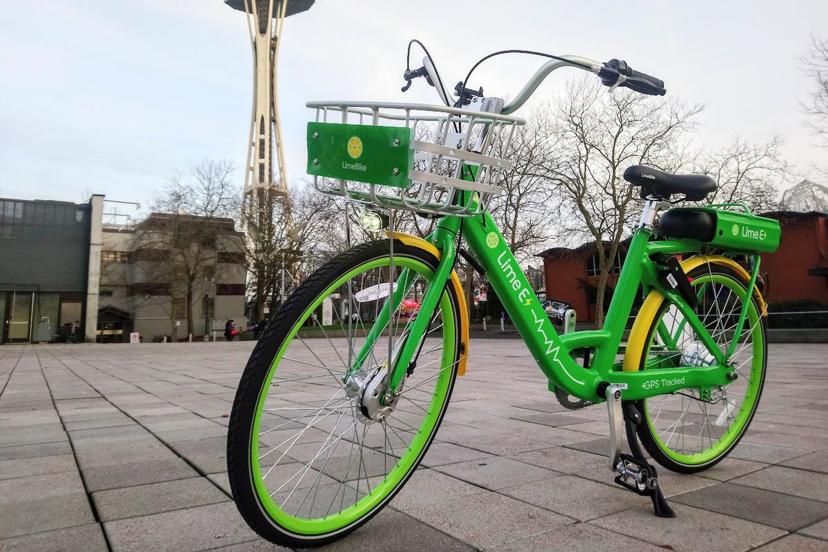 Limebike S Electric Assist Bikes Are Out And Rideable Right Now