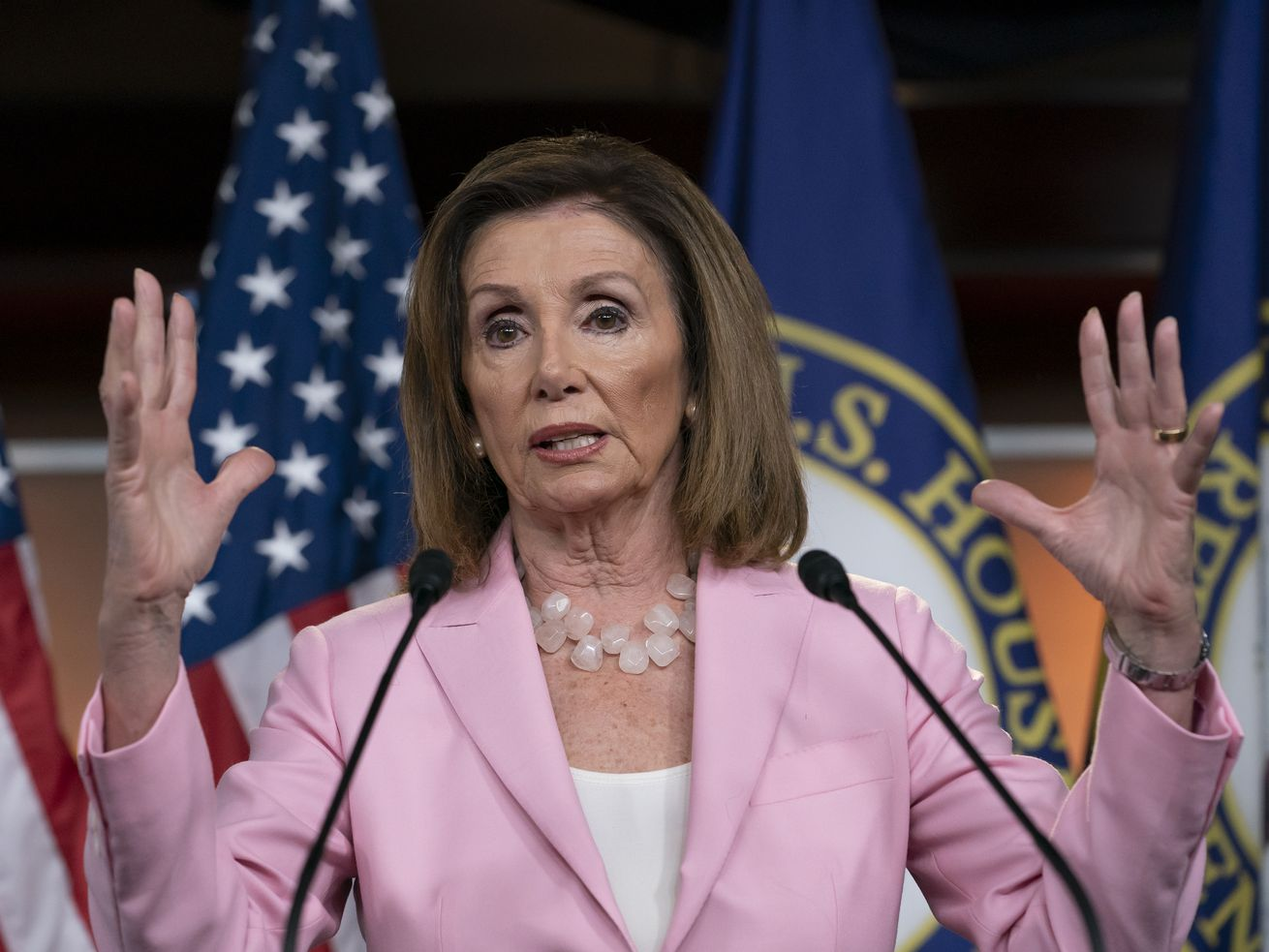 Wait, does Nancy Pelosi want impeachment or fresh peaches?