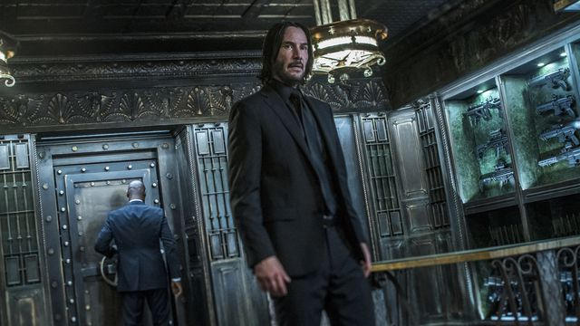 Keanu Reeves as John Wick in John Wick: Chapter 3 - Parabellum