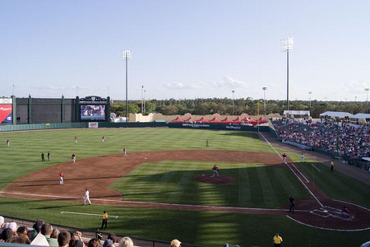 Houston Astros vs. Atlanta Braves 16 March 2012 Champion Stadium