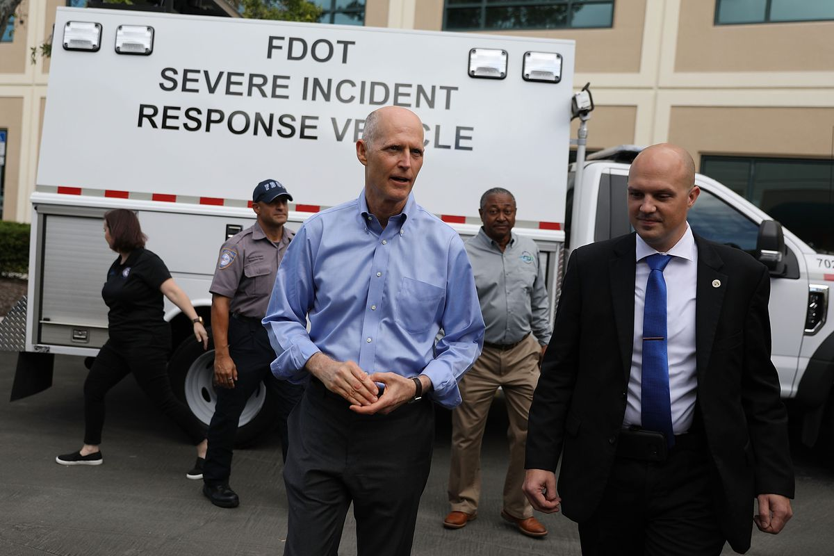 Florida Governor Rick Scott Makes Infrastructure Investment Announcement