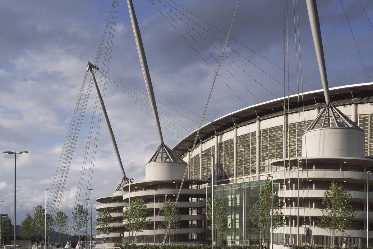 City Of Manchester Stadium, Manchester, United Kingdom, Architect Arup Associates, 2002
