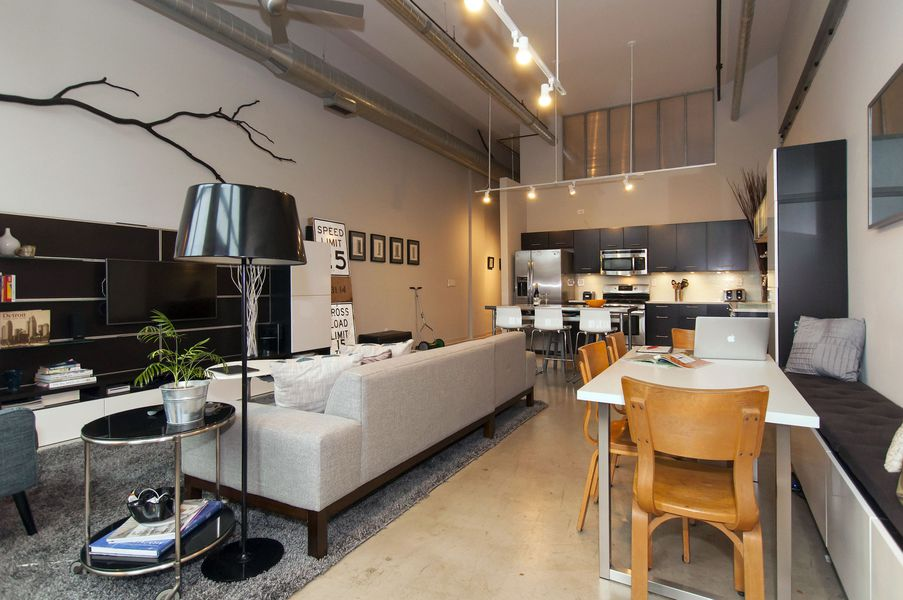 Stylish ground floor loft at willy s asks 449k curbed - Casa tipo loft ...