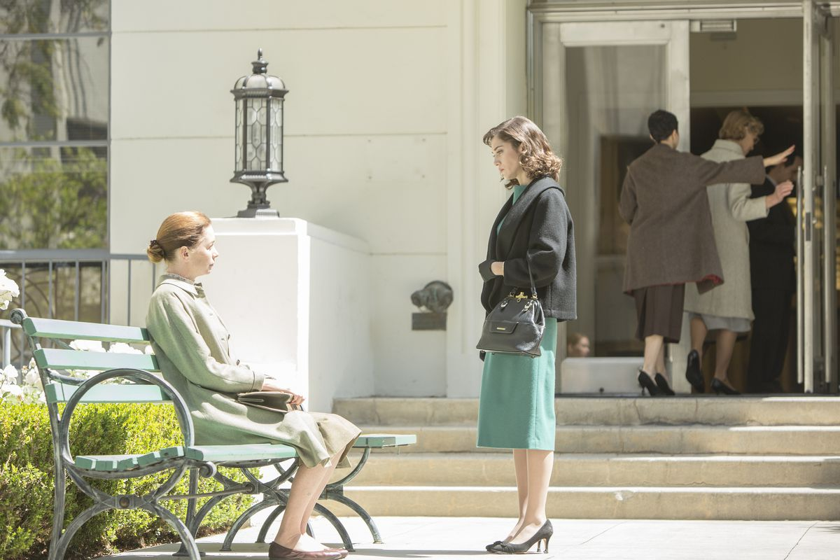 Dr. DePaul (Julianne Nicholson, left) and Virginia (Lizzy Caplan) dissolve their professional relationship, though not their friendship.