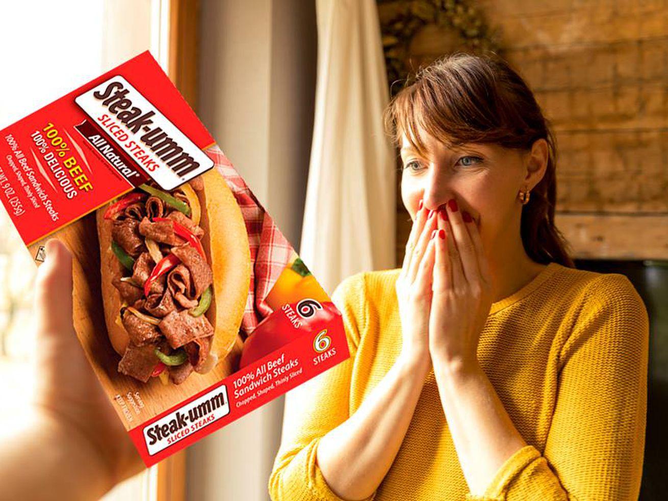 Steak-umm Exploits Millennial Angst to Sell Frozen Cheesesteak Filling