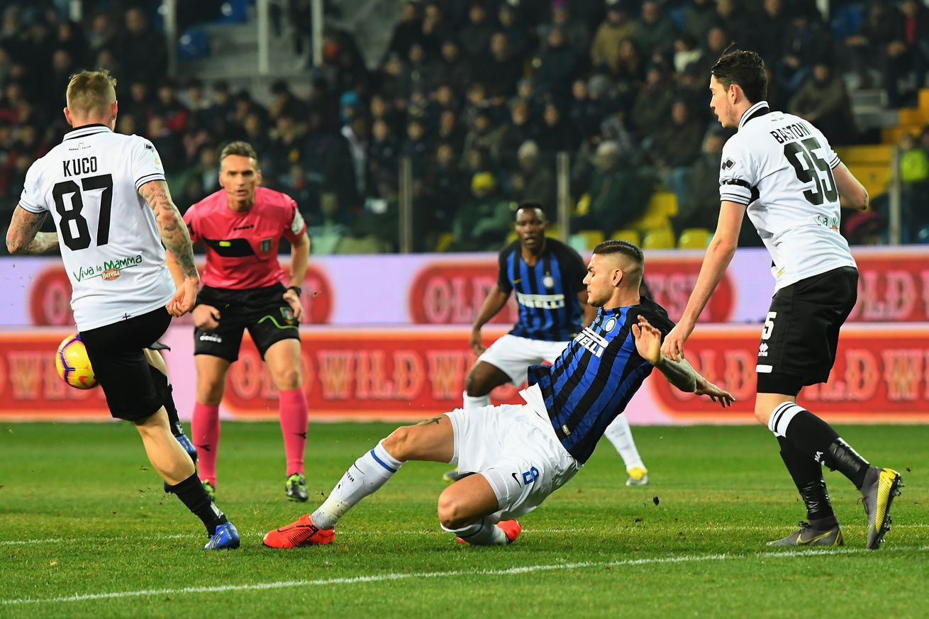 Lautaro Martinez breaks the streak, leads Inter Milan to 1-0 win at Parma