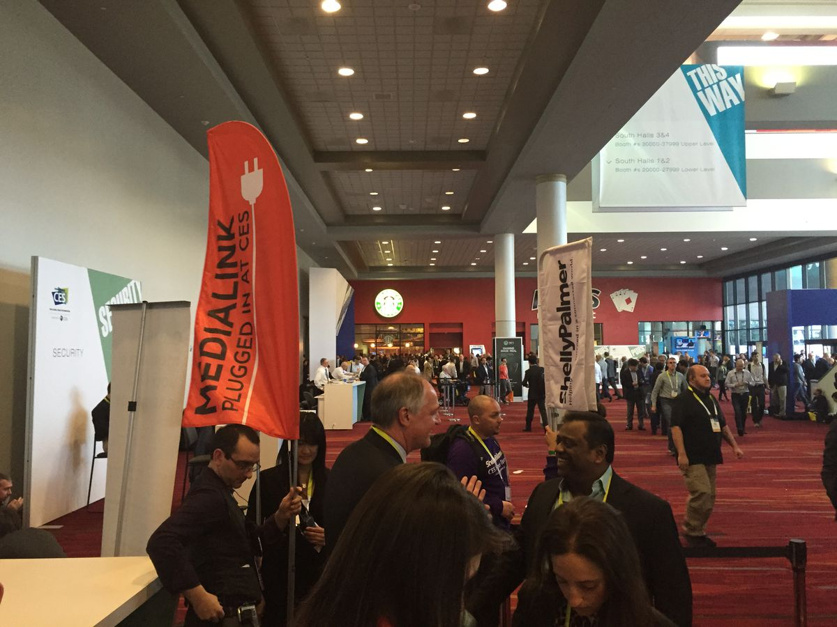MediaLink banners at CES