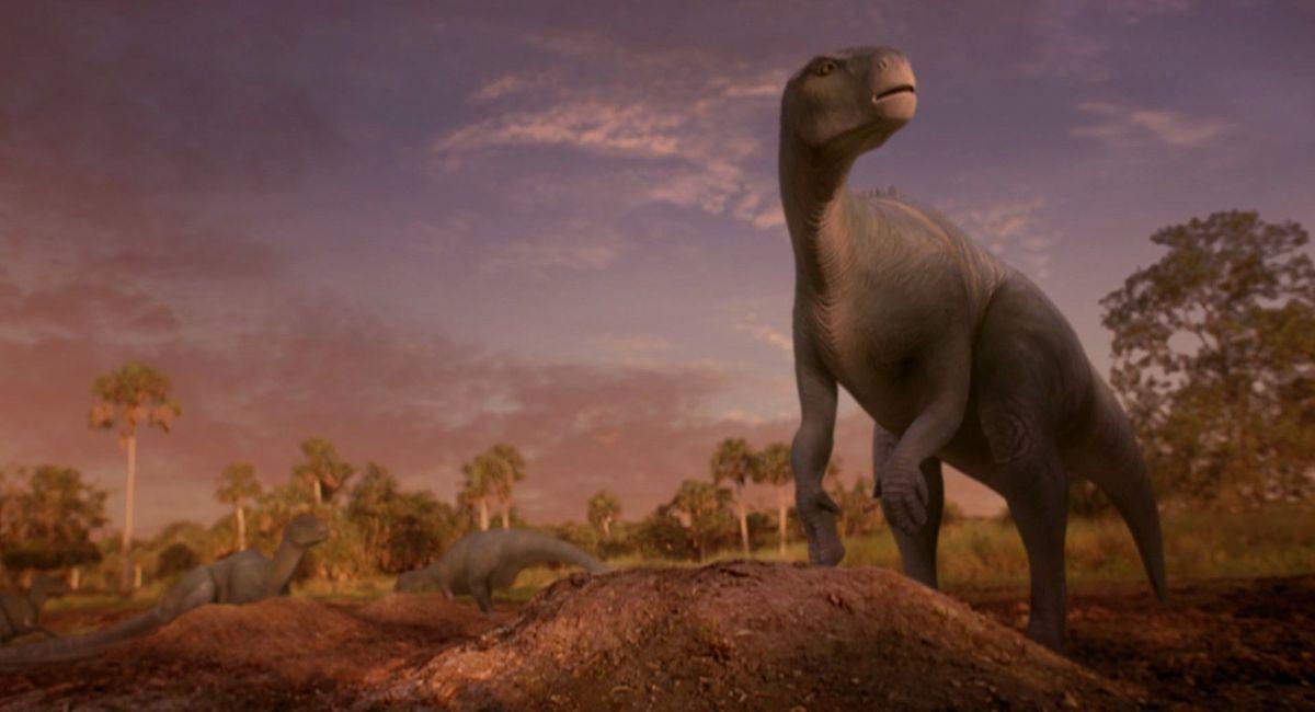 a dinosaur in Dinosaur