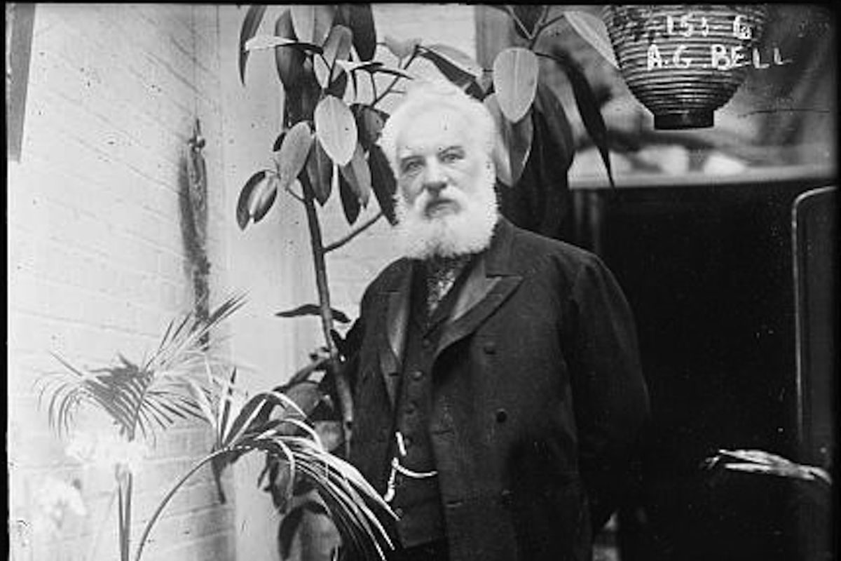 Telephone inventor Alexander Graham Bell\'s voice recovered from ...