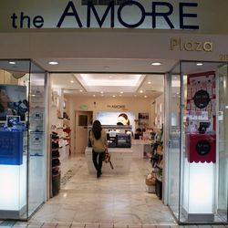 """↑ Then, we take a quick drive over to Koreatown Plaza (928 Western Ave) to check out <a href=""""http://en.amorepacific.com/content/company/global/our-brand/all-brands.html"""" target=""""_blank"""">Amore Pacific</a>, which """"is like the Estée Lauder of Asia. They are"""