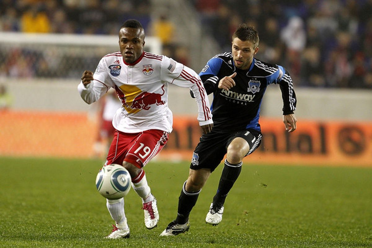 The Great Dane needs to raise his game for the Red Bulls tonight. (Photo by Chris Trotman/Getty Images)