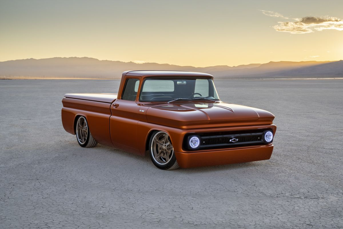 GM Turned A 1960s Pickup Into An Electric Hot Rod