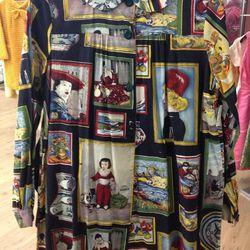 Art print dress