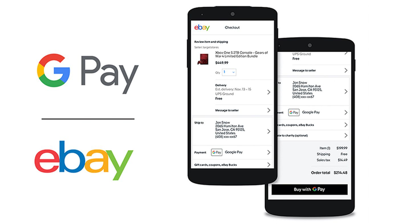 Ebay Is Adding Support For Google Pay The Verge