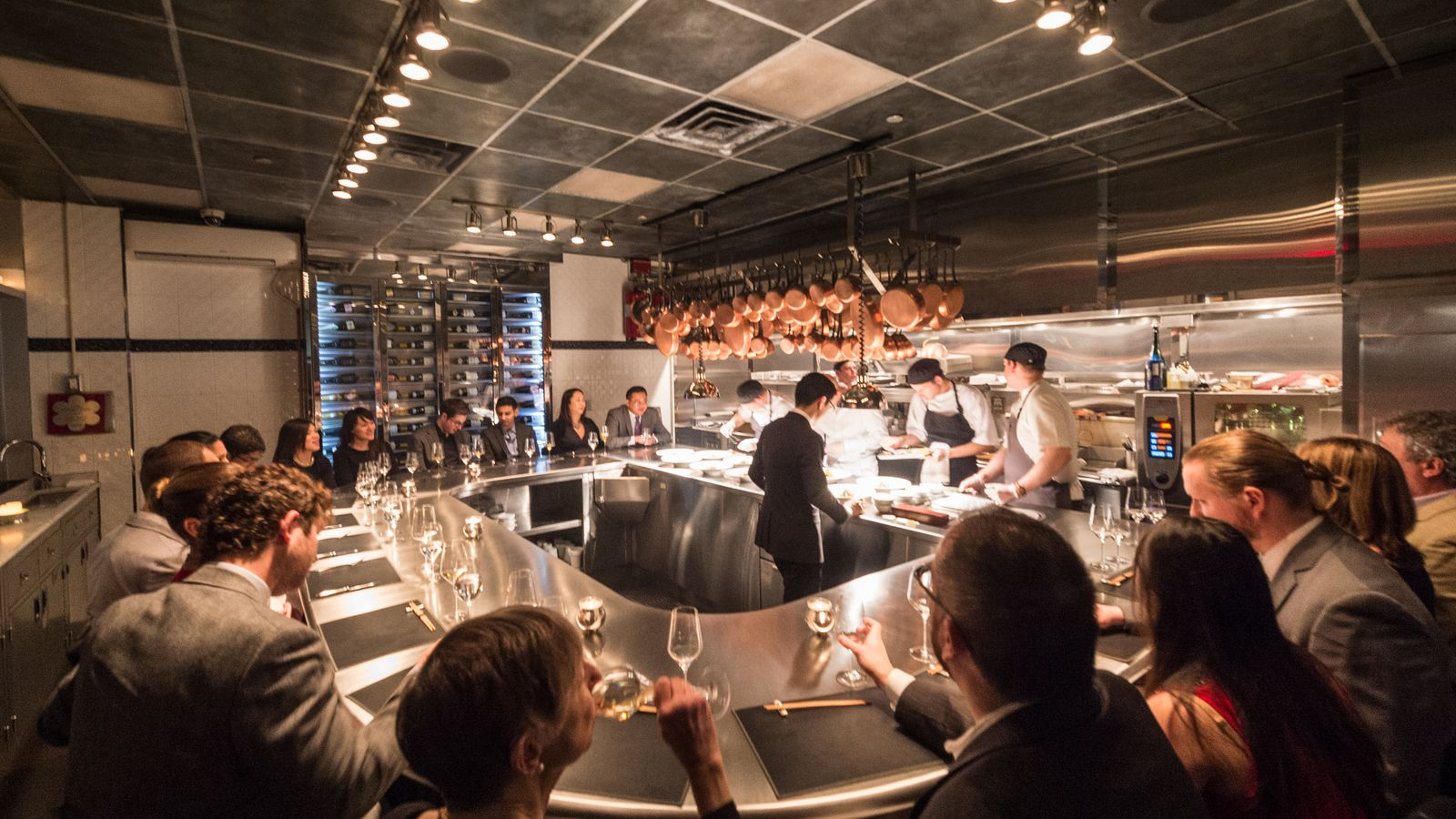 Chef 39 s table at brooklyn fare rumored to be moving to for Table 52 menu chicago