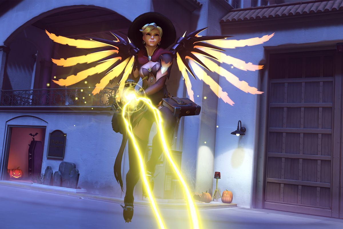 Overwatch fans' devotion to Witch Mercy is literally huge - Polygon