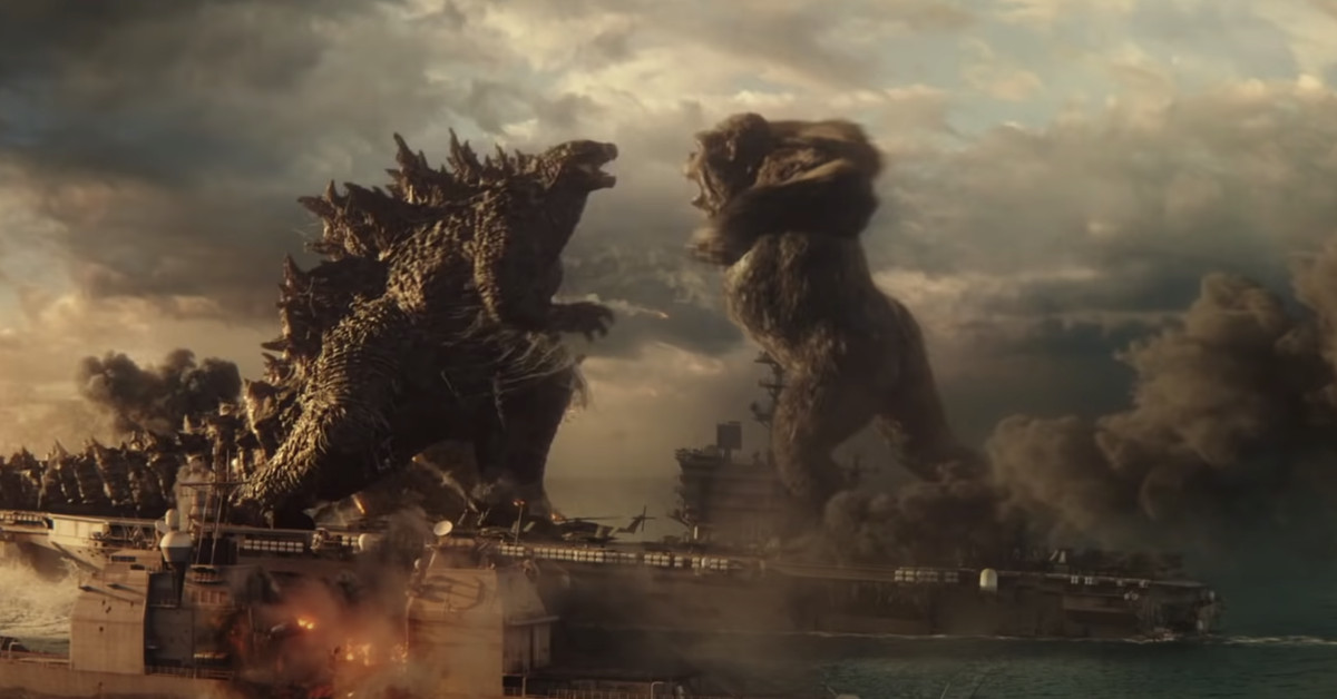 The first Godzilla vs. Kong trailer brings the brawl
