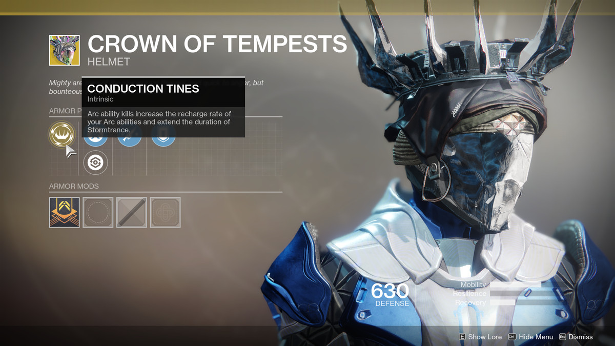 Crown of Tempests Exotic Destiny 2