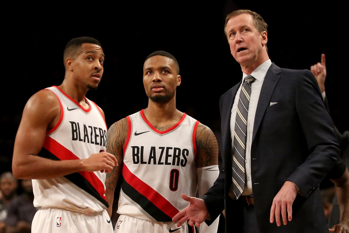 portland trail blazers tv schedule released - blazer's edge