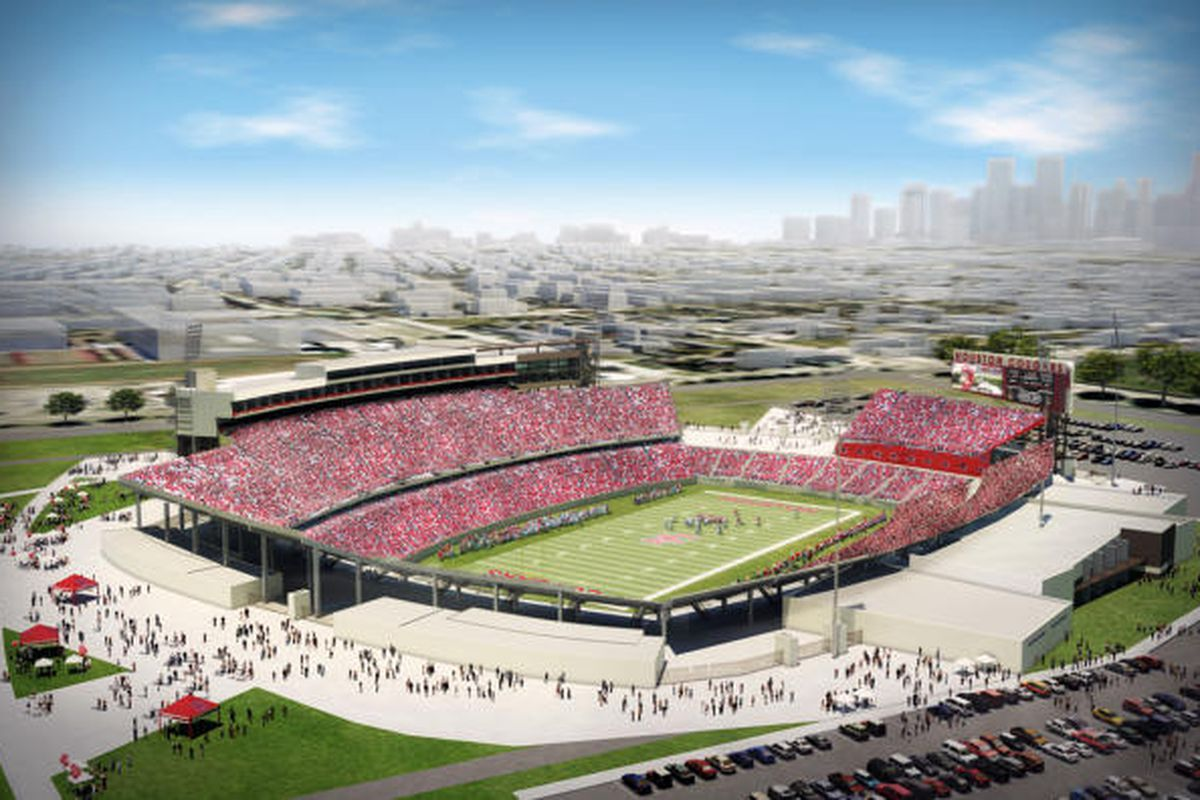 New football stadium renderings (source: chron.com)