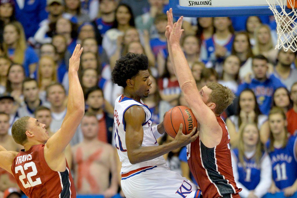 NCAA Basketball: Stanford at Kansas