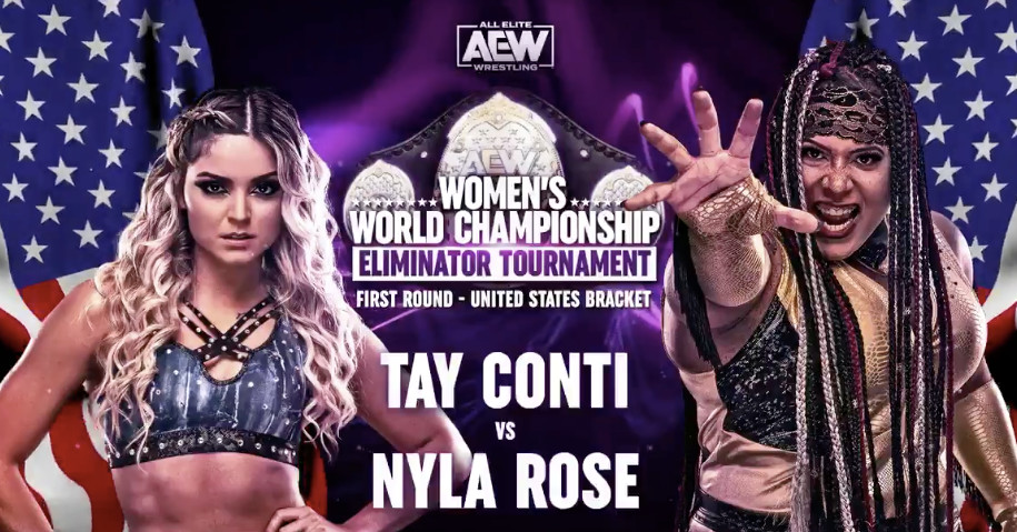 Watch the Feb. 22 edition of AEW Women's Title Eliminator Tournament - Cageside Seats